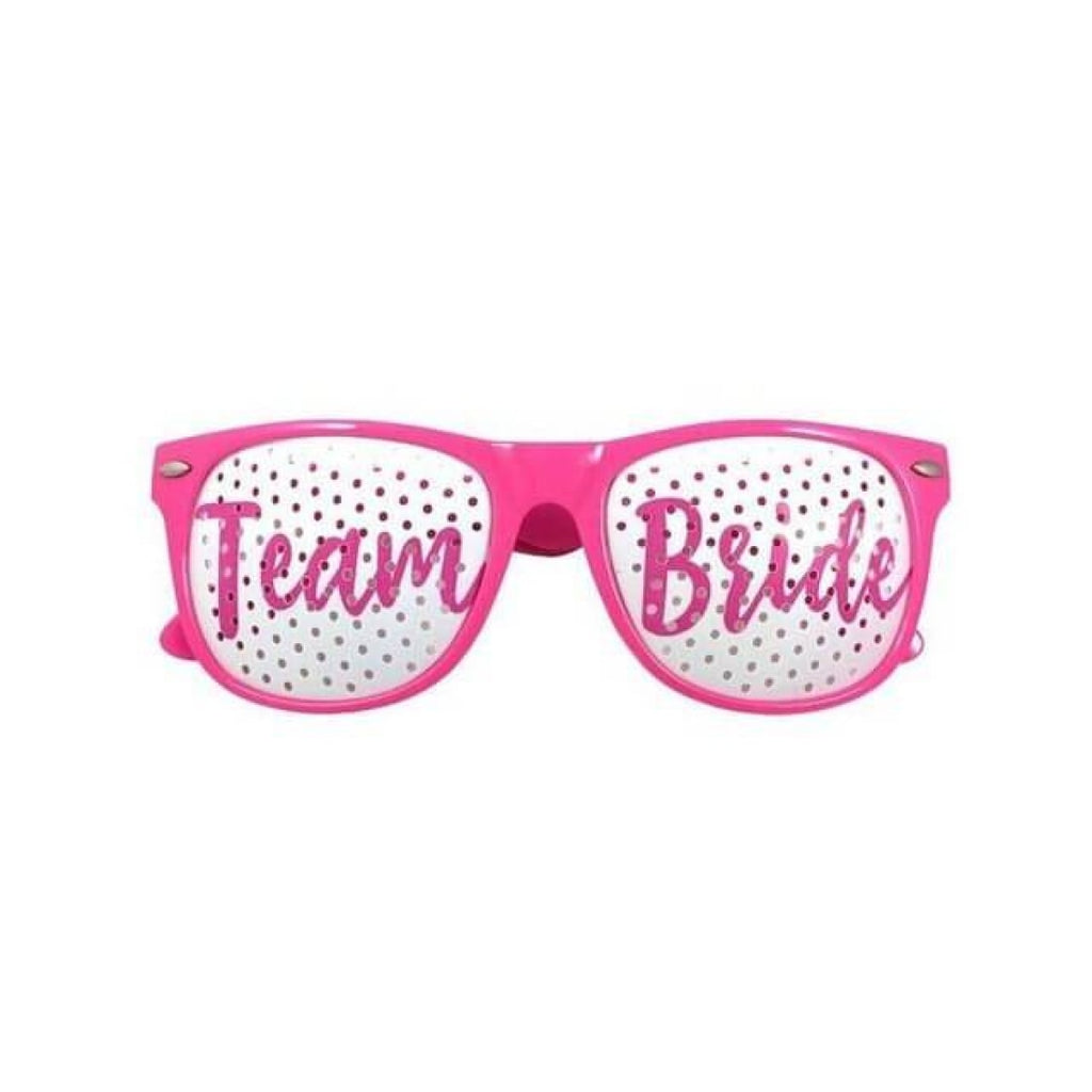 Team Bride/ Bride Sunglasses for Bachelorette Party/ Bridal Shower