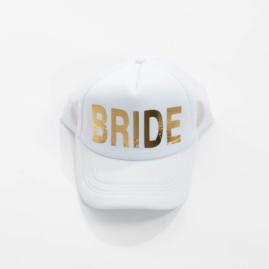 Bride Squad Hats - Bridesmaid's World