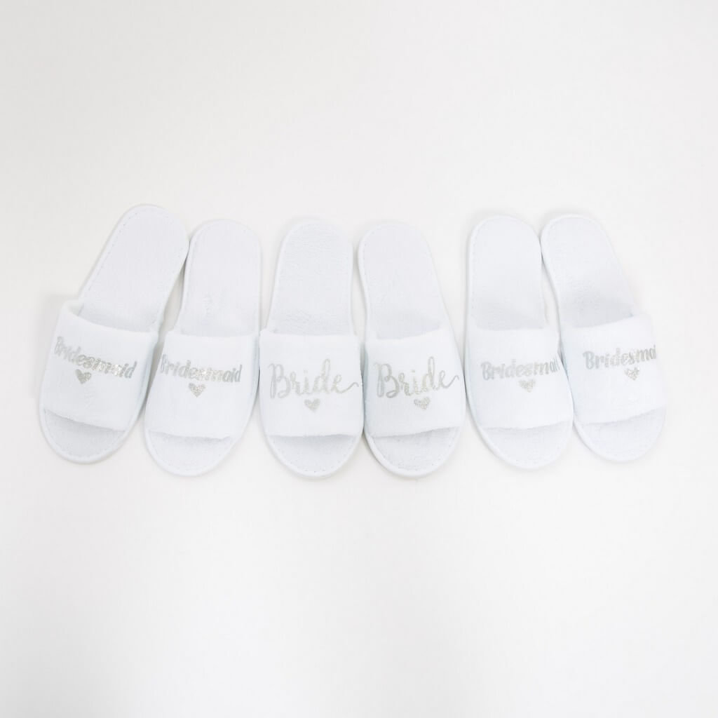 Flower Girl Kids Slippers - Bridesmaid's World