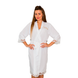 Cotton Lace Bridesmaid Robes