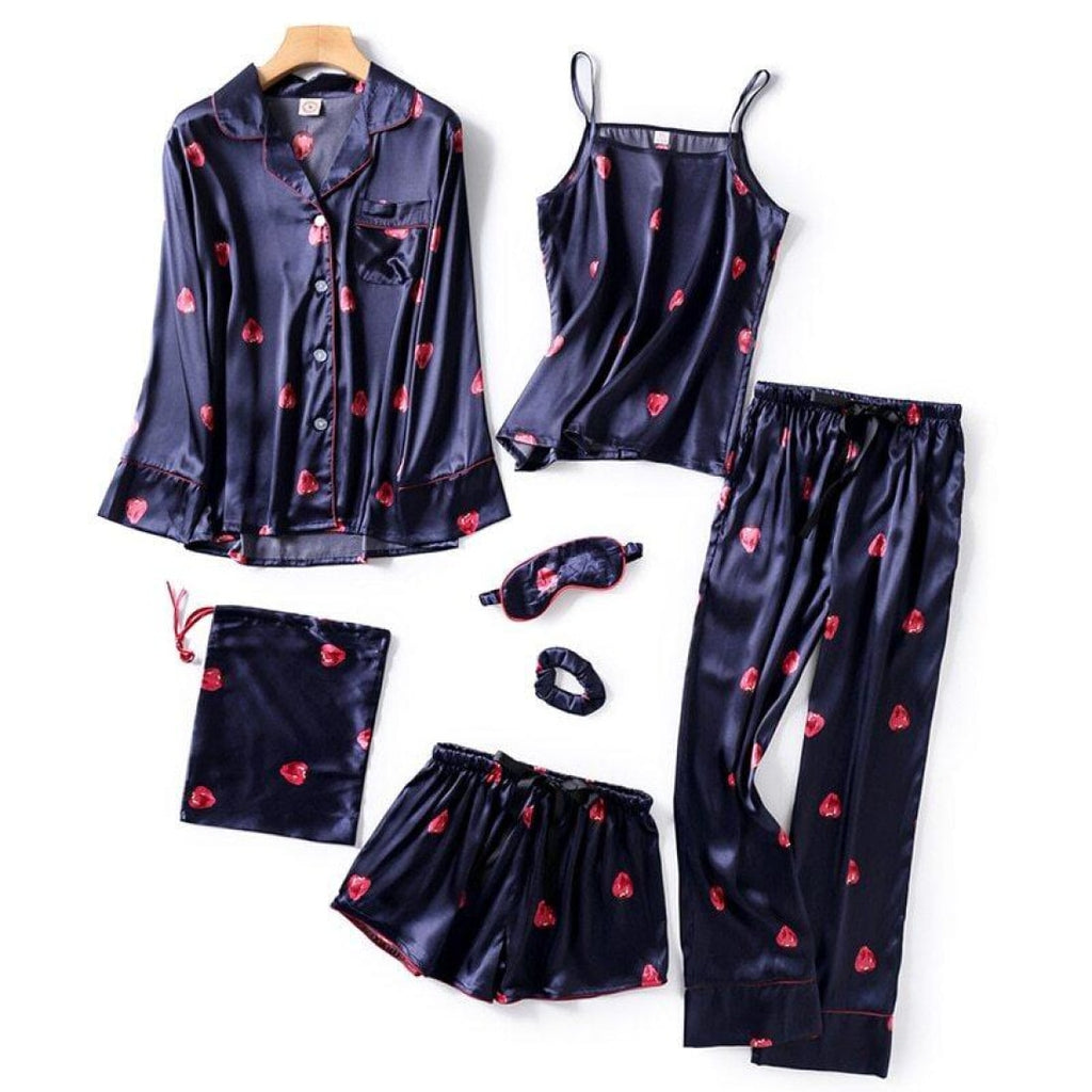 *women's Pajamas Set 7 Pcs