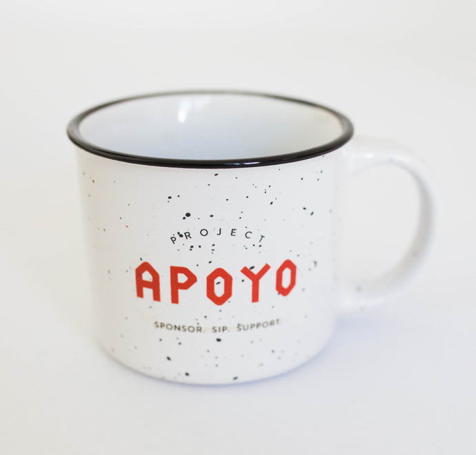 Project Apoyo mug is for all you hip, coffee lovers.