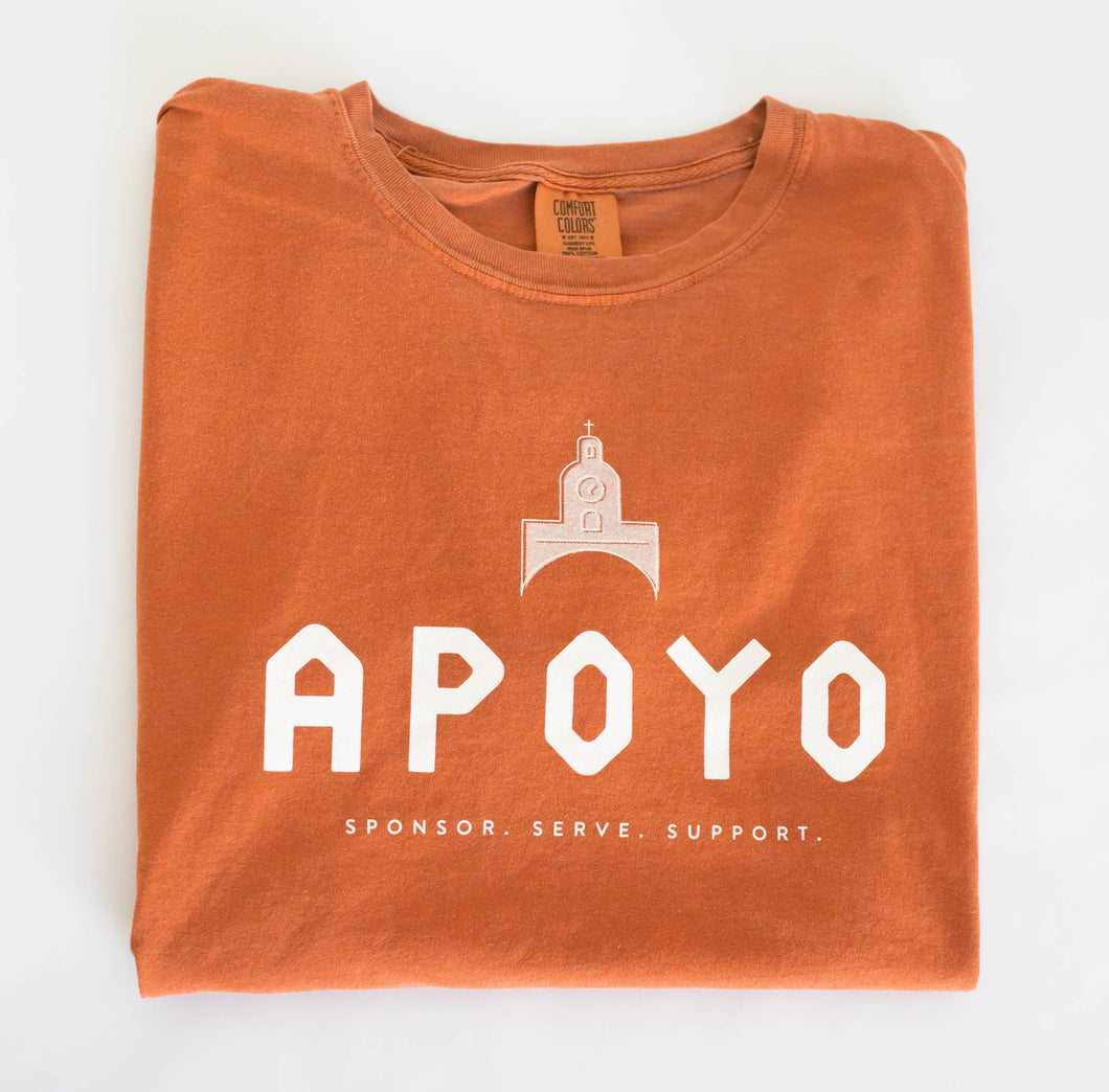Project Apoyo Comfort Colors t-shirt.