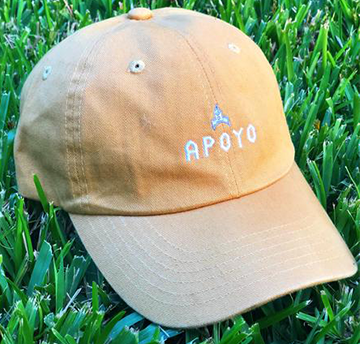Whether you're a wanna-be Green Jacket owner, out for a run or just plain cool, this Project Apoyo Dad Hat is for you.