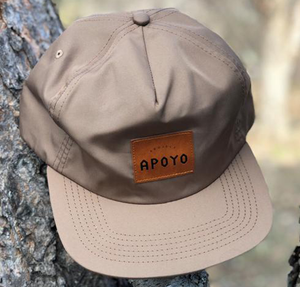 You can't go wrong with an unstructured, waterproof Project Apoyo bro hat.