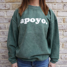 Project Apoyo corded sweatshirt is super comfortable.