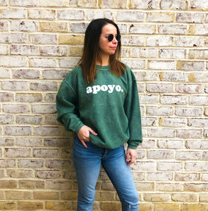 This Project Apoyo sweatshirt is the trendy pick this season.