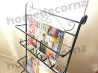 Metal_Magazine_Rack_Newspaper_Holder_With_Free_Stand_(Matt_Black)-_For_Trademe7_RNBUVLK0S39A.jpg