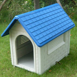 Plastic_Dog_House_Kenenl_with_Blue_Curved_Roof_-_For_trademe5.1_RRV3011CIYAD.jpg