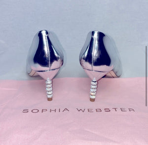 Sophia Webster Metallic Pump