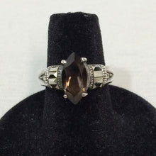 Load image into Gallery viewer, Sterling Silver Marcasite Ring