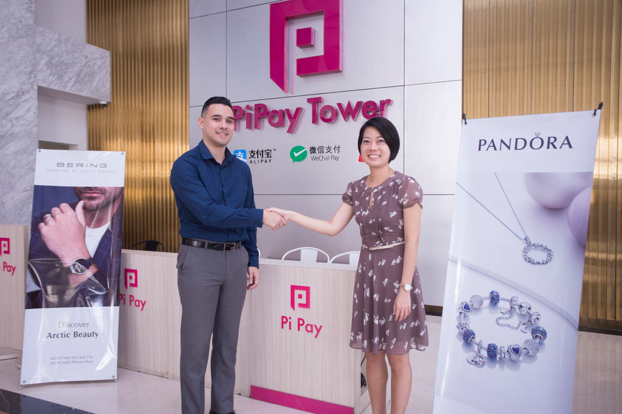 Sandara and Pi Pay partners to provide additional payment options at Pandora and Bering