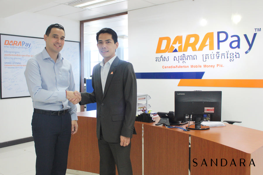 DaraPay signs partnership with Sandara