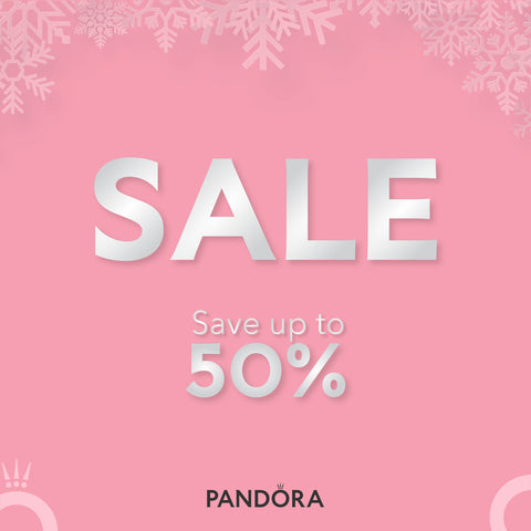 Pandora Christmas Winter Sale Up to 50% off