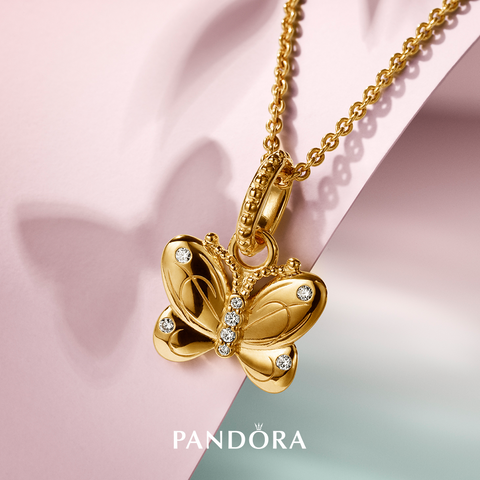 PANDORA-Garden-Collection-Butterfly-Dangle-Necklace