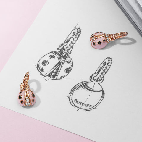 PANDORA-Garden-Collection-Pink-Ladybird-Dangle
