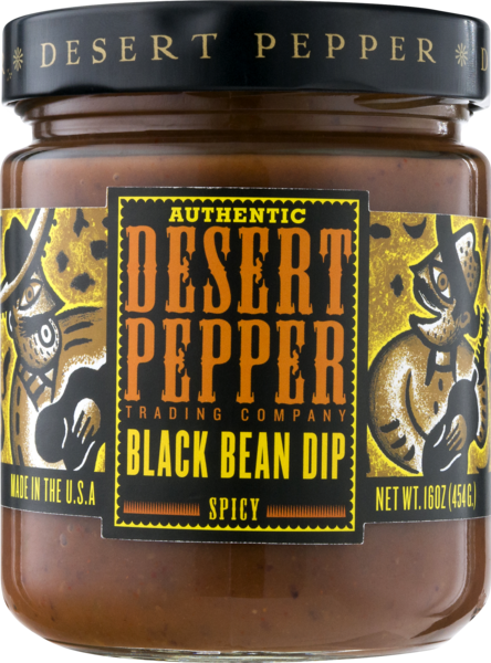 Desert Pepper Spicy Black Bean Dip 454gm