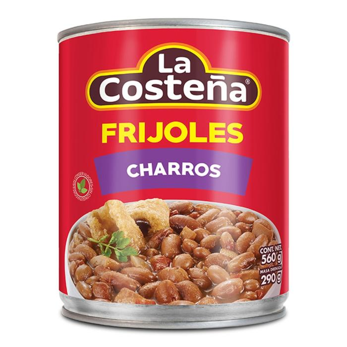 Beans Frijoles Charros with bacon and chorizo 560gm