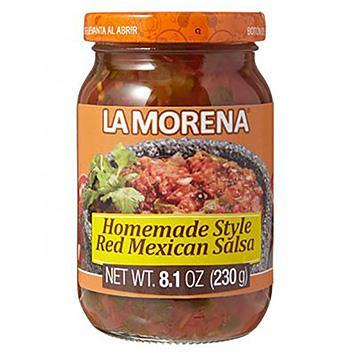 La Morena Homemade Style Red Mexican Salsa 230gm - Best before 28/04/2021