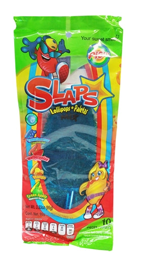 Pigui Slaps Tropical Flavor Mexican Candy - 10 pieces (95gm)