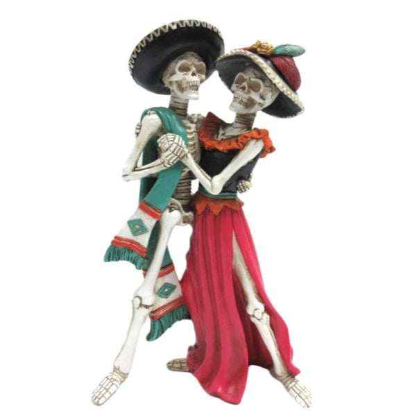 Day of the Dead figurine - Tango dancing couple