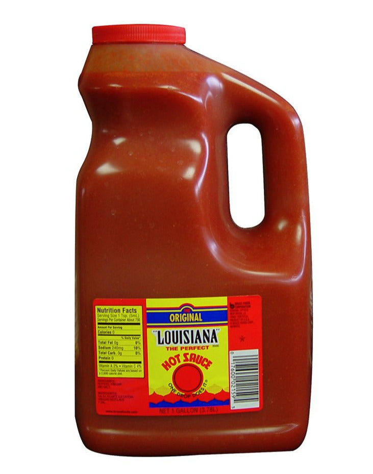 Louisiana Original Sauce Gallon (3.8lt)