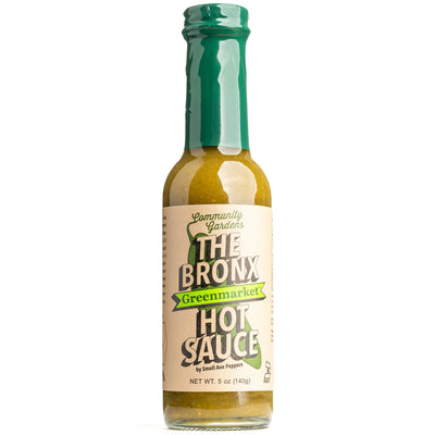 Small Axe Peppers - The Bronx Greenmarket Hot Sauce 5oz (148ml)