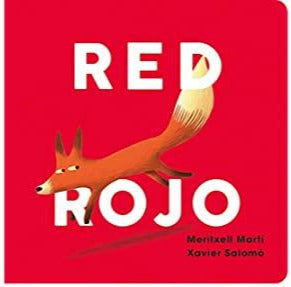 Book - Bilingual Boardbook Colour Series - Red: Rojo