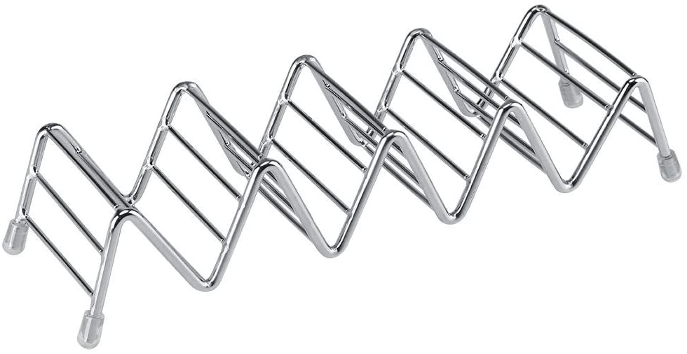 Taco Holder - Stainless Steel - 4 slot