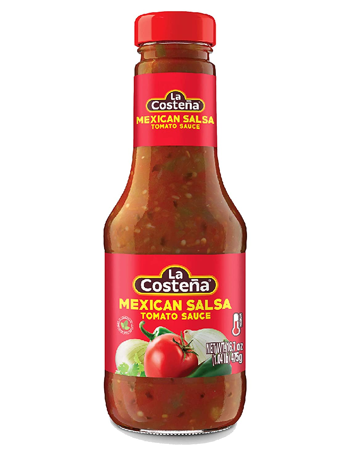 La Costena Salsa Mexicana Red 473gm