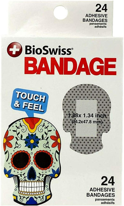 Bioswiss Sugar Skull Bandages - pack of 24