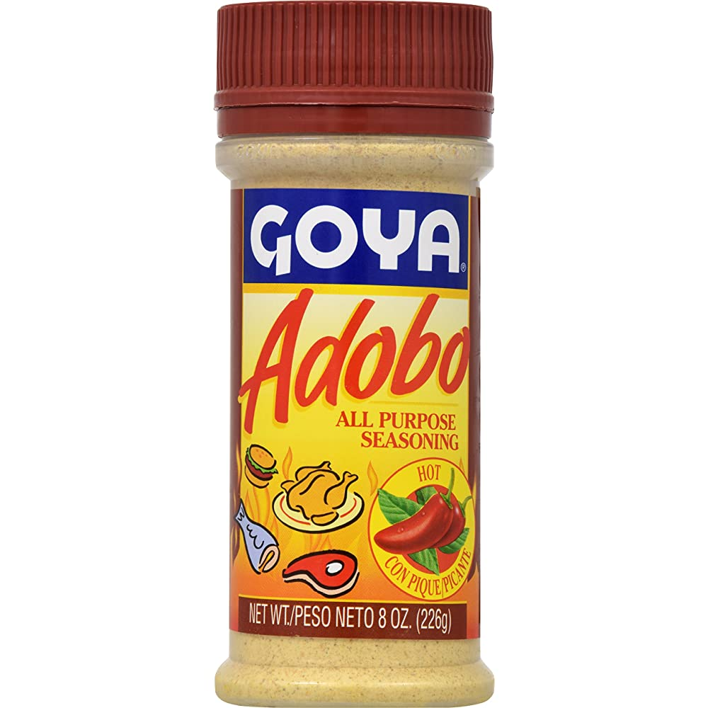 Goya Adobo All Purpose Seasoning - Hot 8oz