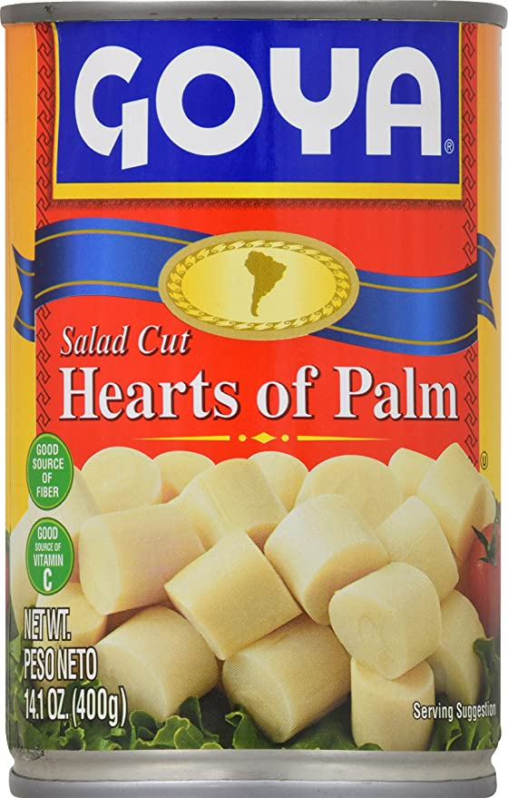 Goya Hearts of Palm - salad cut 400gm