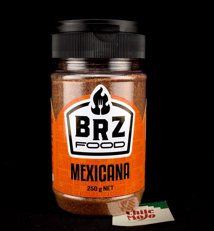 BRZ Food - Mexicana Spice Rub 250gm