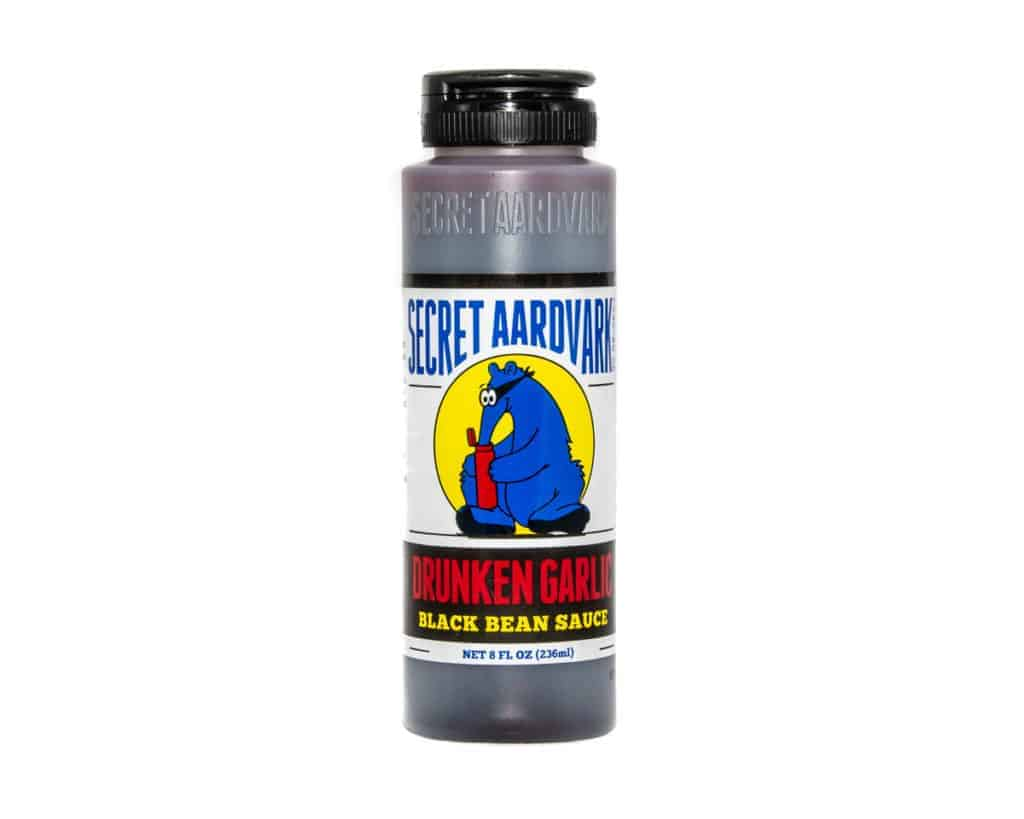 Secret Aardvark Drunken Garlic Black Bean Sauce 236ml (8oz)