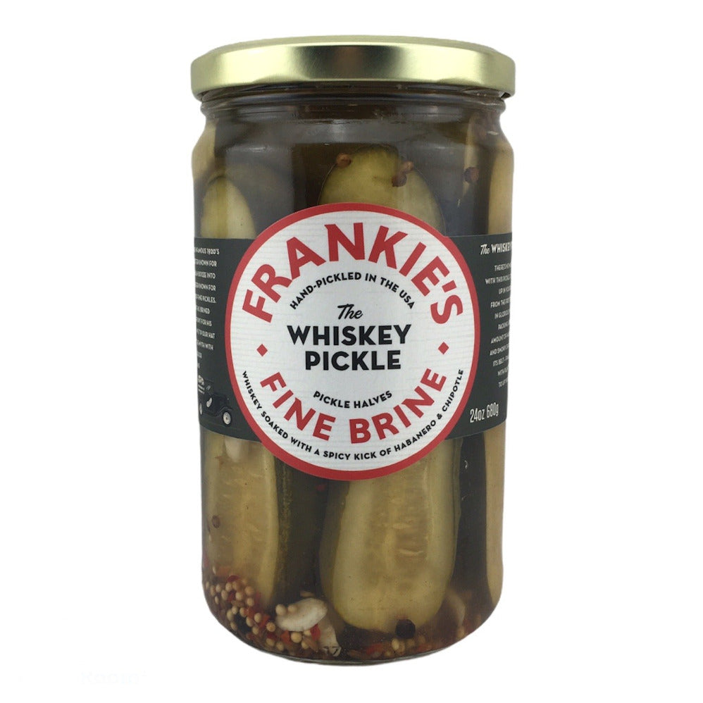 Frankies Fine Brine - The Whiskey Pickle 24oz (680gm)