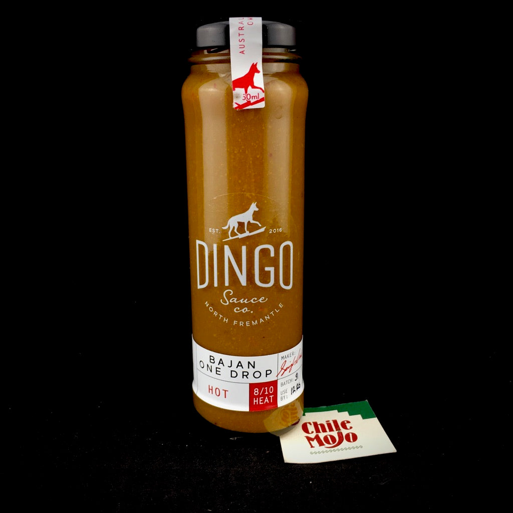 Dingo Sauce Co. Bajan One Drop Hot Sauce 150ml