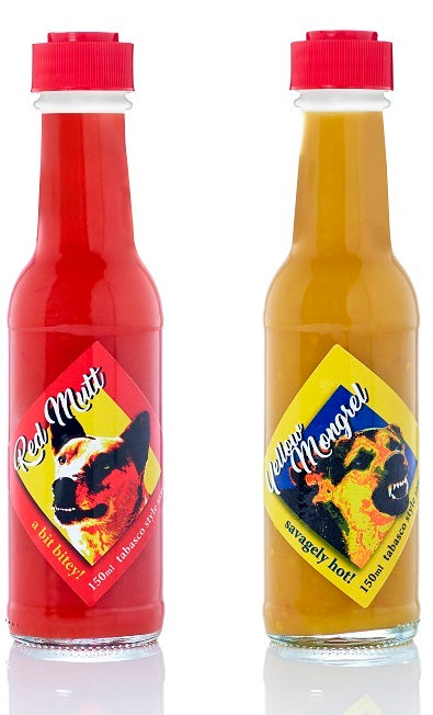 Disaster Bay Dogs Hot Sauce Set - 2 x 150ml bottles
