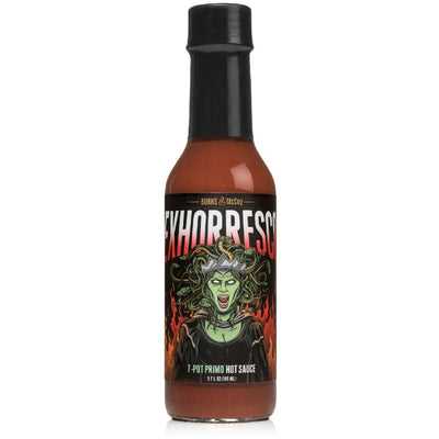 Burns and McCoy Exhorresco 7 Pot Primo Hot Sauce 148ml (5oz)