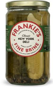 Frankies Fine Brine - New York Deli Pickle