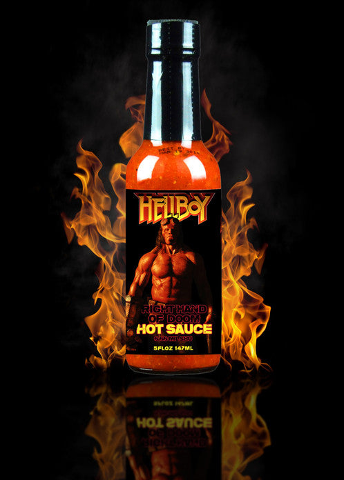 Hellfire Hellboy Right Hand of Doom Hot Sauce 5oz (148ml)