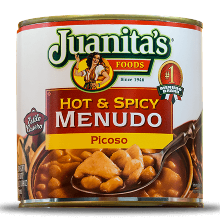 Juanitas Hot n Spicy Menudo 709gm (25oz)