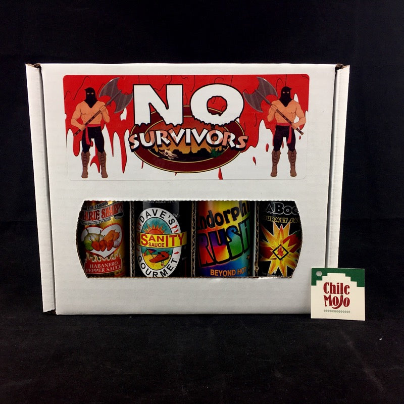 No Survivors Box 4 x 150ml