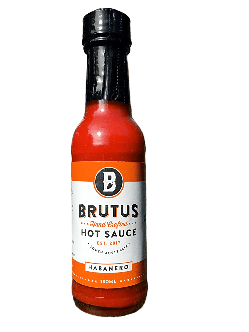 Brutus Fermented Habanero Hot Sauce 150ml