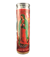 Mexican Candle - Virgin of Guadalupe