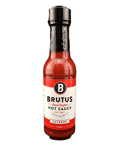 Brutus Fermented Cayenne Hot Sauce 150ml