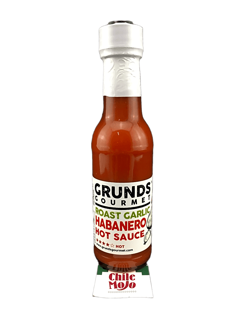 Grunds Roast Garlic Habanero Hot Sauce 165gm