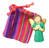 Guatemalan Worry Doll - ceramic guardian angel
