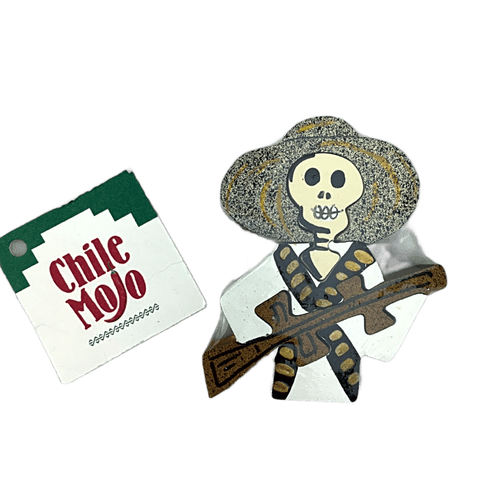 Magnet puzzle - Day of the Dead Bandito