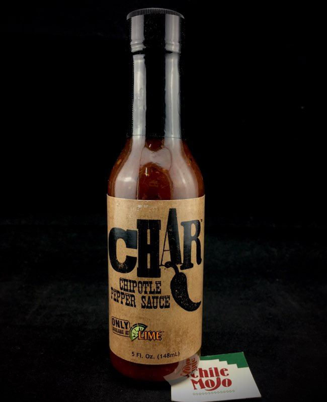 Lime Fresh Mexican - Char Chipotle Pepper Sauce 5oz (148ml)